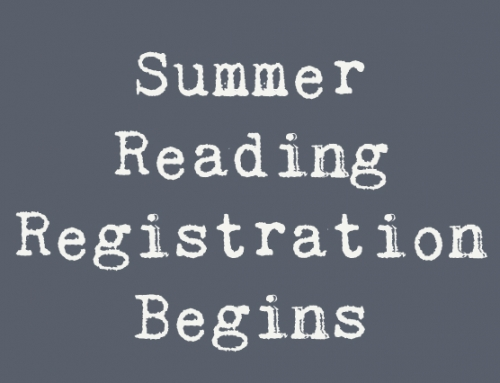 Summer Reading Registration begins June 1!