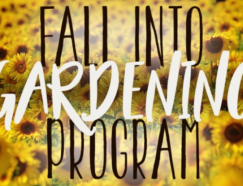 Fall Into Gardening Program Coming in September!