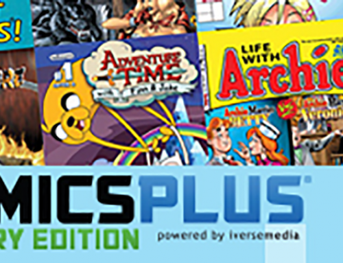 NOW AVAILABLE! ComicsPlus: Library Edition