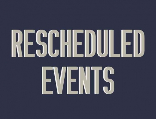 September's Rescheduled Events Due to Inclement Weather