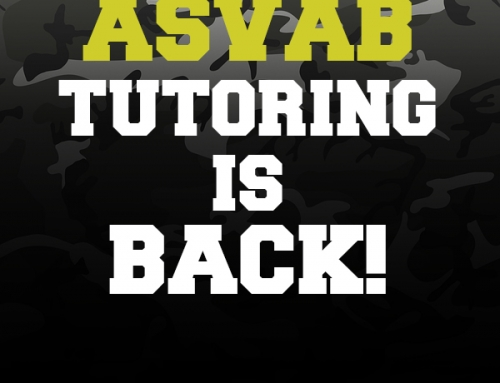 ASVAB Tutoring is Back!